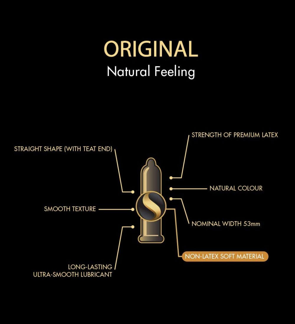 SKYN® Original Non Latex Condoms pack of 100 + FREE SKYN® Maximum Performance personal Lubricant 80Ml