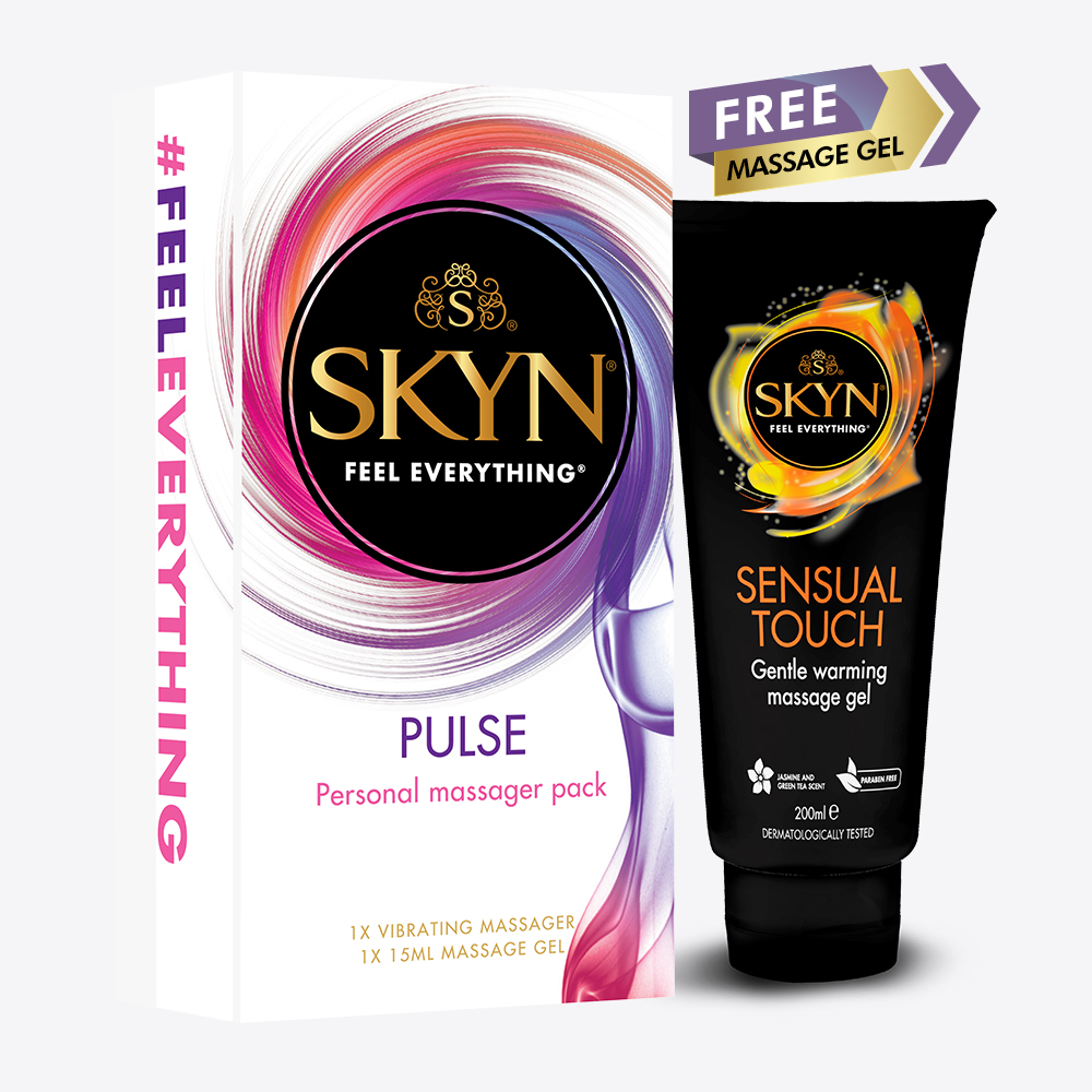 Skyn Pulse Massager Pack with free gel