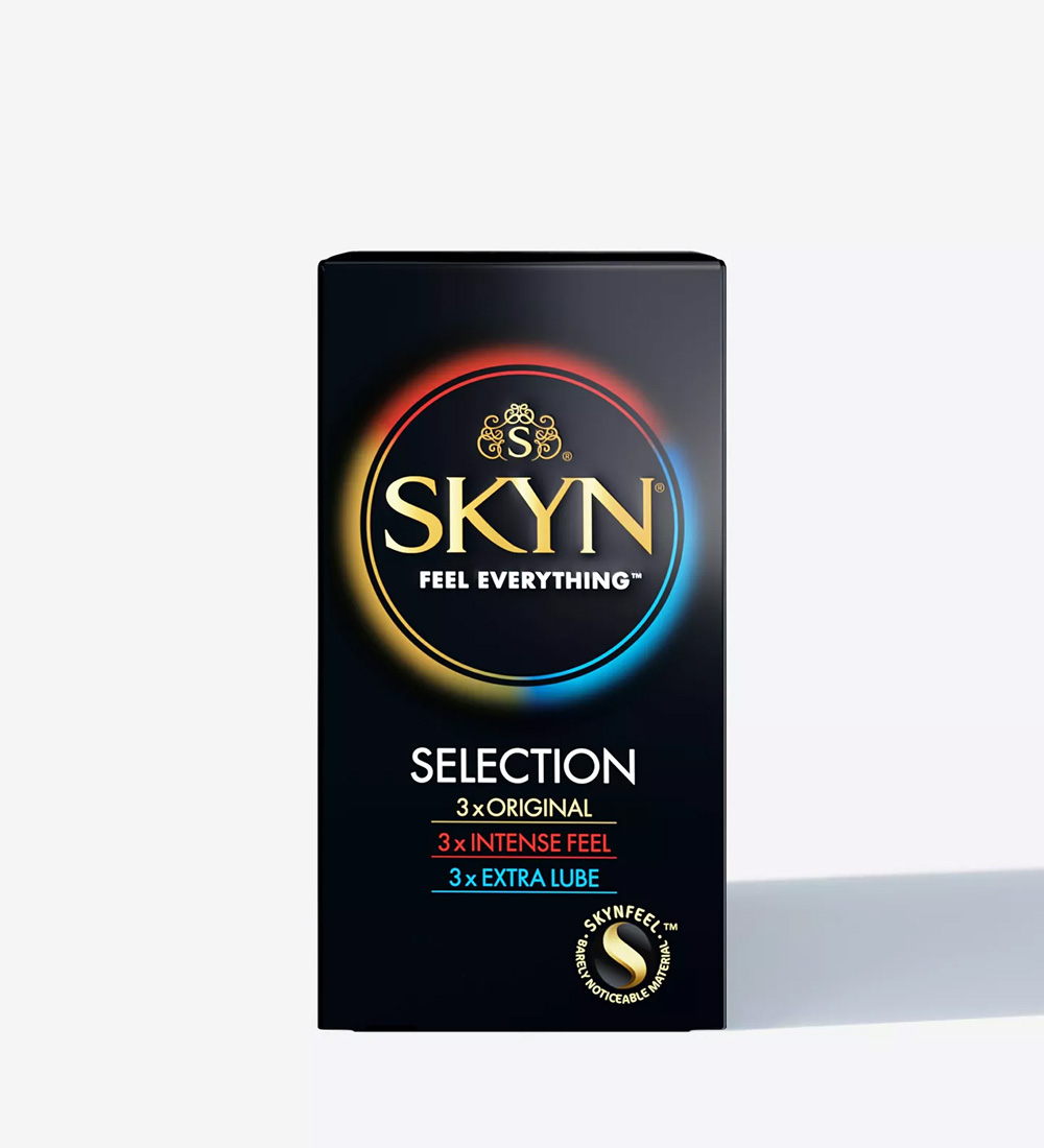 SKYN® Selection Non Latex Condoms - Pack of 30 + Free 6 Pack of SKYN® Elite Condoms