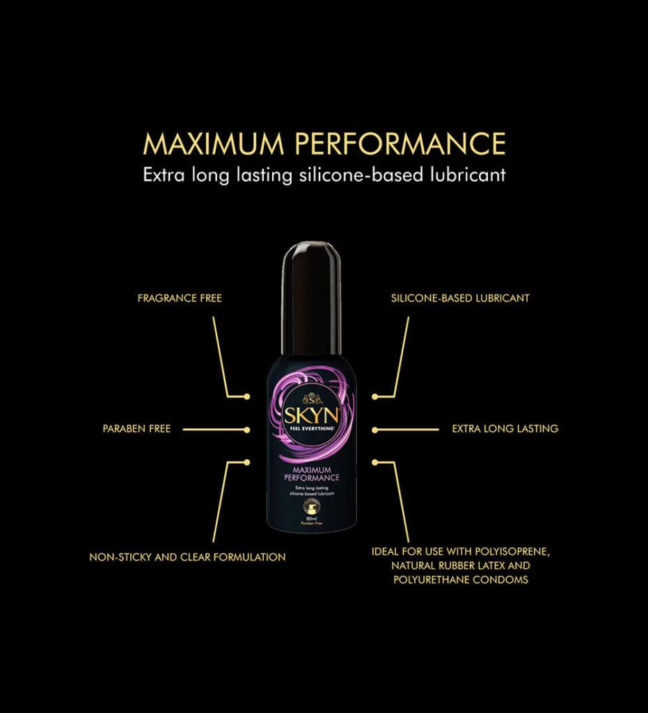 SKYN® Maximum Performance Lube - Pack of 3